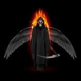 Angel of death Stock Photography