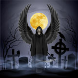 Angel of death. Royalty Free Stock Images