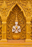 Angel decoration of buddhist temple Royalty Free Stock Photo