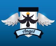 Angel design. Angel digital design, vector illustration 10 eps graphic Royalty Free Stock Image