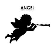 Angel design Stock Images
