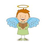 Angel design Royalty Free Stock Images