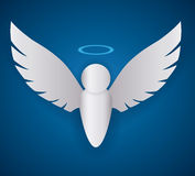 Angel design. Royalty Free Stock Image