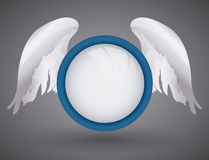 Angel design. Royalty Free Stock Photo