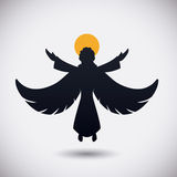 Angel design. Stock Photo