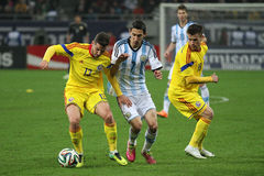 Angel di Maria in action Stock Image