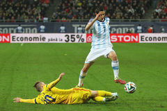 Angel di Maria in action Stock Photography