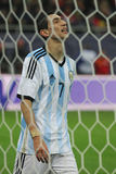 Angel di Maria disappointed Royalty Free Stock Photography