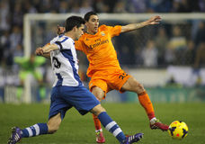 Angel di Maria of Real Madrid Royalty Free Stock Photography