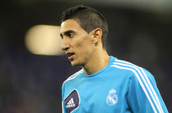 Angel Di Maria of Real Madrid Royalty Free Stock Photo