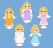 Angel Digital Clipart Metta le ragazze di angelo baptism royalty illustrazione gratis