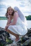 Angel on earth II Stock Photo