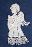 Angel embroidery Stock Photo