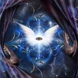 Angel Eye stock illustratie