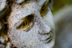 Angel Face. Face of Angel with limited depth of field royalty free stock images