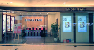 Angel Face shop in Hong Kong Stock Photos