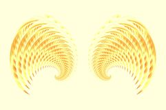 Angel Fairy or Bird Wings 2 Stock Images