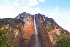 Angel Falls, Венесуэла Стоковая Фотография RF