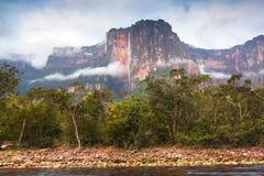 Angel Falls, Венесуэла Стоковое Изображение