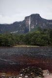 Angel Falls в Венесуэле Стоковые Фото