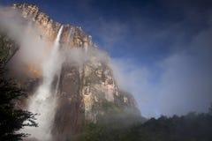 Angel Falls в Венесуэле Стоковые Фотографии RF