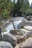 Angel Falls - национальный парк скалистой горы Стоковое Изображение