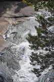 Angel Falls - национальный парк скалистой горы Стоковые Фотографии RF