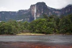 Angel Falls i Venezuela Royaltyfri Fotografi