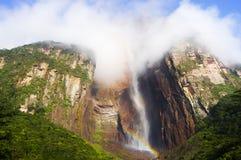 Angel Falls - le Venezuela image stock
