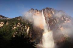 Angel Falls na Venezuela Fotografia de Stock