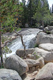 Angel Falls - Rocky Mountain National Park Image stock