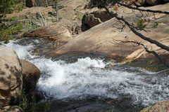 Angel Falls - Rocky Mountain National Park Photos stock