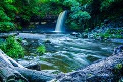 Angel Falls södra Wales Royaltyfri Bild