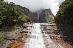 Angel Falls in Venezuela stockbilder