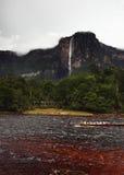 Angel Falls in Venezuela Stock Image