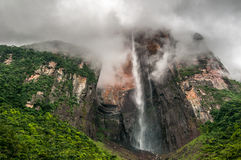 Angel Falls, the world's highest waterfall, Venezuela Stock Photos