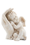 Angel figure. Isolated on white background Stock Photo