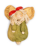 Angel Figurine Arkivbild