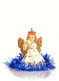 Angel figurine for christmas Royalty Free Stock Image