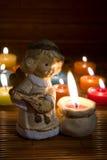 Angel figurine, christmas decoration Royalty Free Stock Image