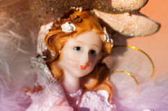 Angel Figurine Portrait Royalty Free Stock Image