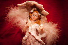 Angel Figurine Stock Image