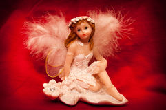 Angel Figurine Royalty Free Stock Photo