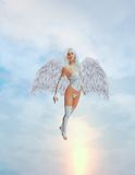 Angel Flying Royalty Free Stock Photos