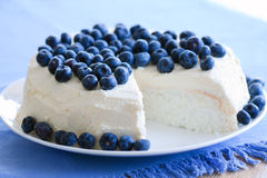Angel Food Cake Royalty Free Stock Photography