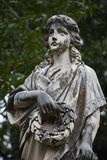 Angel found in Oakwood Cemetery in Fort Worth Texas stock photos