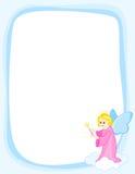 Angel frame Stock Images