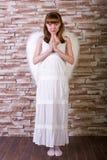 Angel girl Stock Image