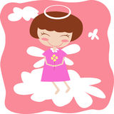 Angel girl Stock Photo