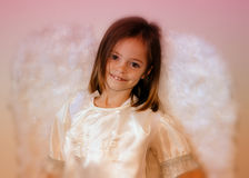 Angel Girl Lizenzfreies Stockfoto